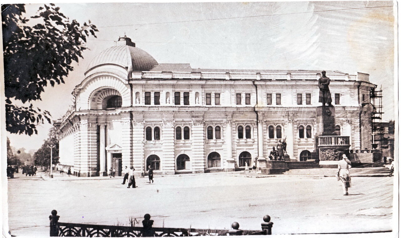 1960-е. Площадь Челюскинцев
