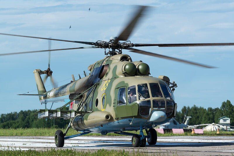 Миль Ми-8МТ (RF-06058 / 88 жёлтый) D800971