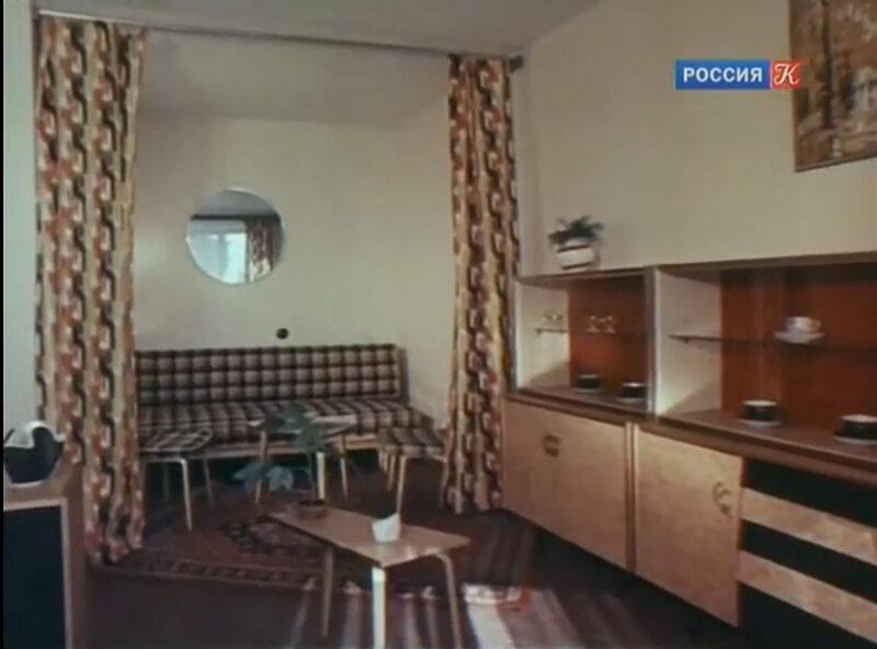 советский дизайн интерьера 1980