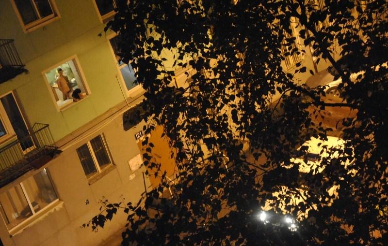 Вид из окна соседней общаги