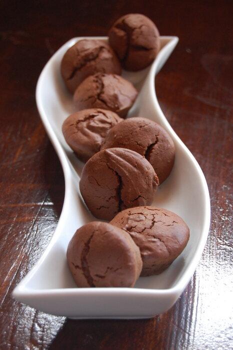 шоколадно-сметанные кексы
