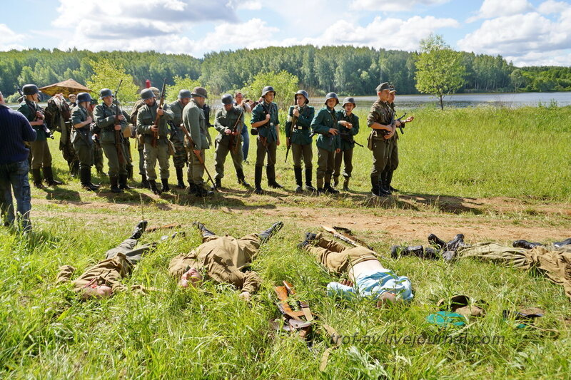 Результаты боя. 22 июня, реконструкция начала ВОВ в Кубинке