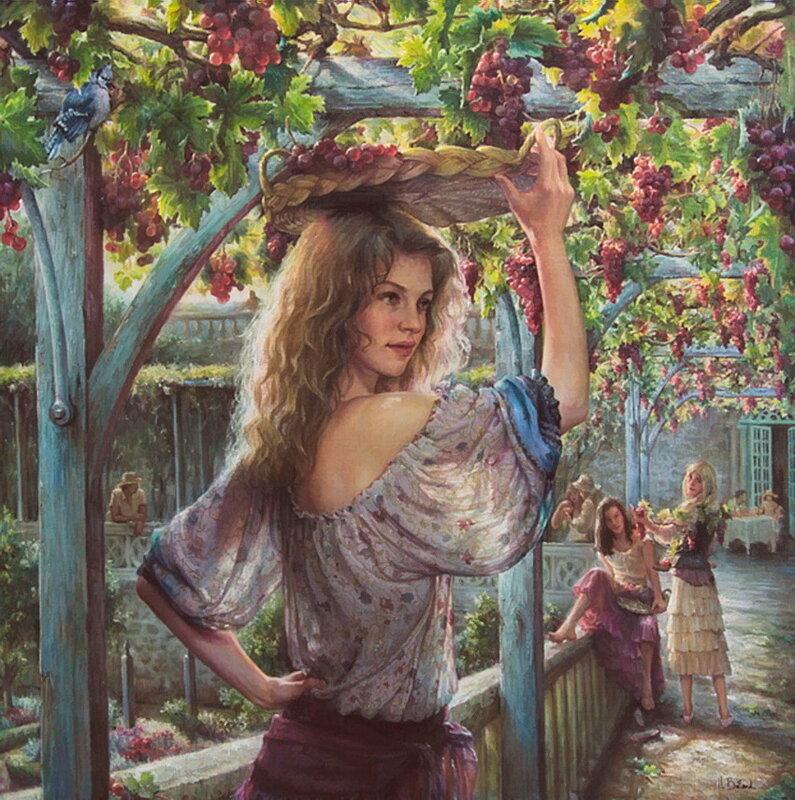 Белан Елена (Beland Helene). И я снова, как виноградная лоза, обвиваюсь вокруг тебя