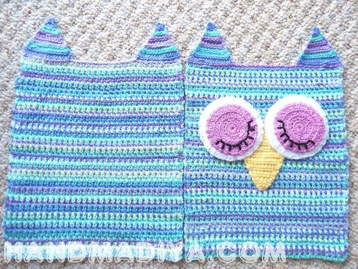 Подушка - сова ~ Pillow-owl