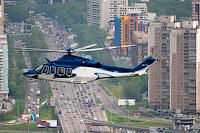На вертолёте над Москвой