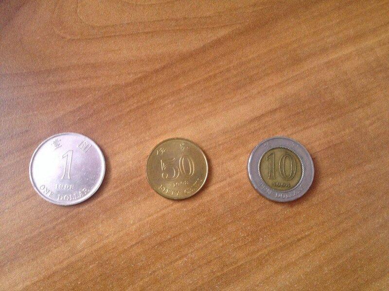 Гонконгские деньги — монеты