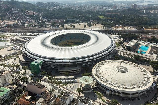 Футбольные стадионы Бразилии   самые большие и красивые