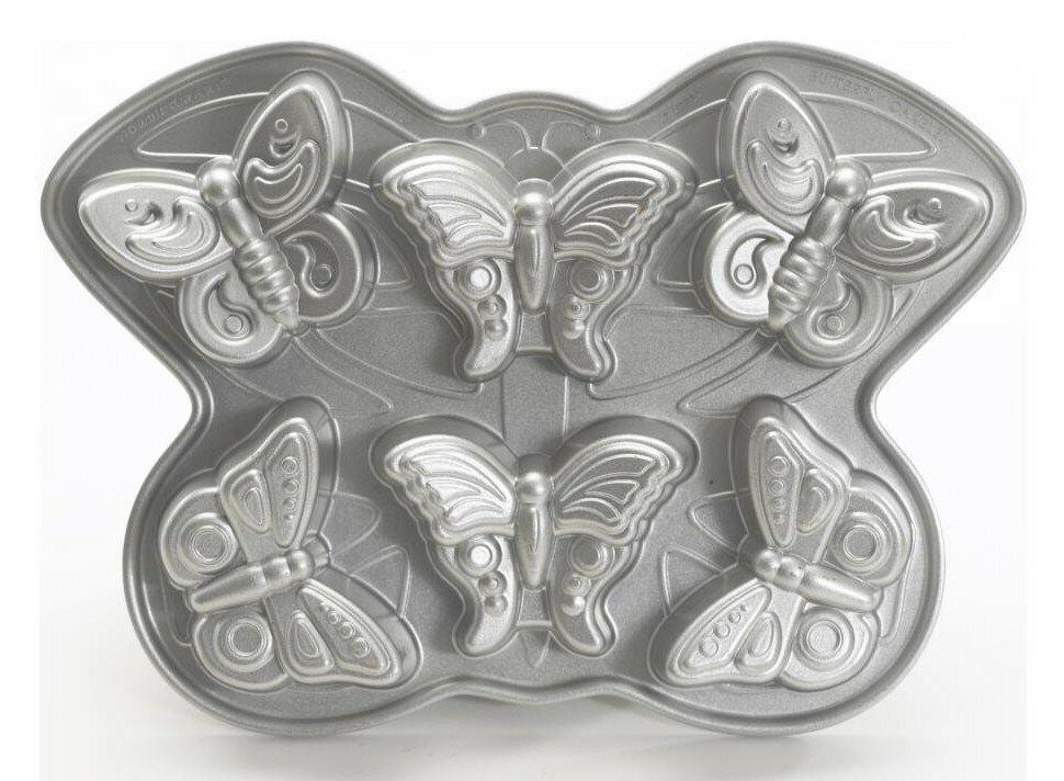 форма для кекса бабочки