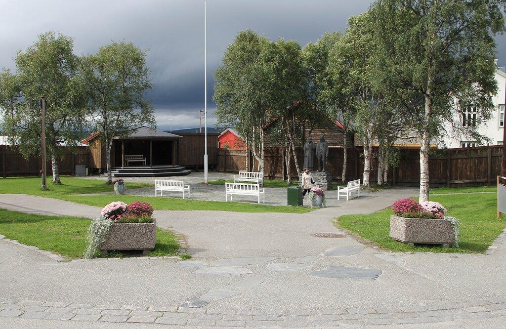 Рёрус, парк Nilsenhjørnet