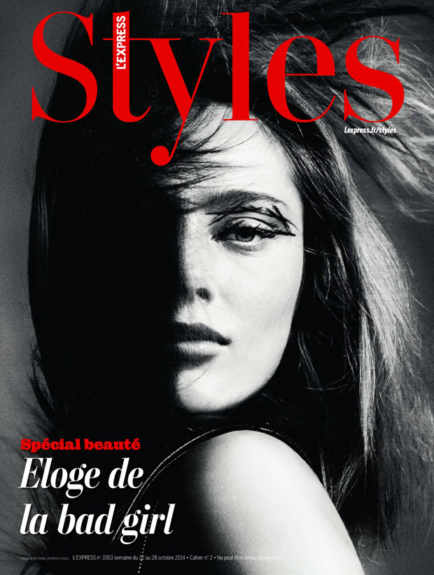 Кармен Педару (Karmen Pedaru) в журнале L'Express Styles