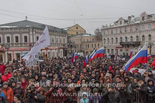 Митингующим вчесть Бориса Немцова посоветовали приобрести ограждения