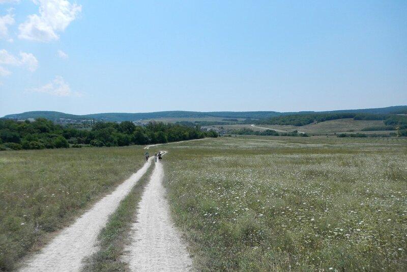 Дорога на Эски-Кермен