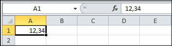Как в Excel происходит форматирование числовых данных