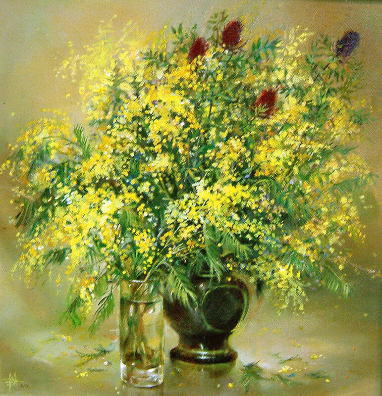 Yellow Mimosa Painting by Valentina Ragsdale.jpg