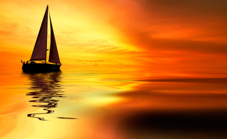 на море корабль картинки