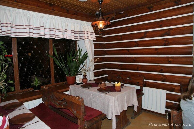Ростов Великий, Ресторан при отеле Русское подворье