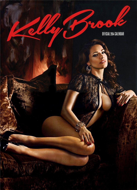 Календарь сексуальной красотки, актрисы и модели Келли Брук / Kelly Brook - official calendar 2014