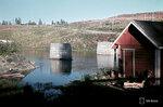 1940-01-01 Конструкций моста в реку.