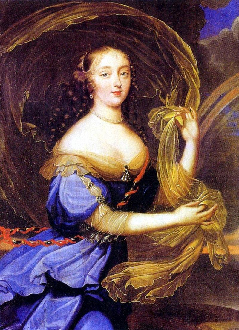 Françoise-Athénaïs de Rochechouart de Mortemart, marquise de Montespan, en Iris