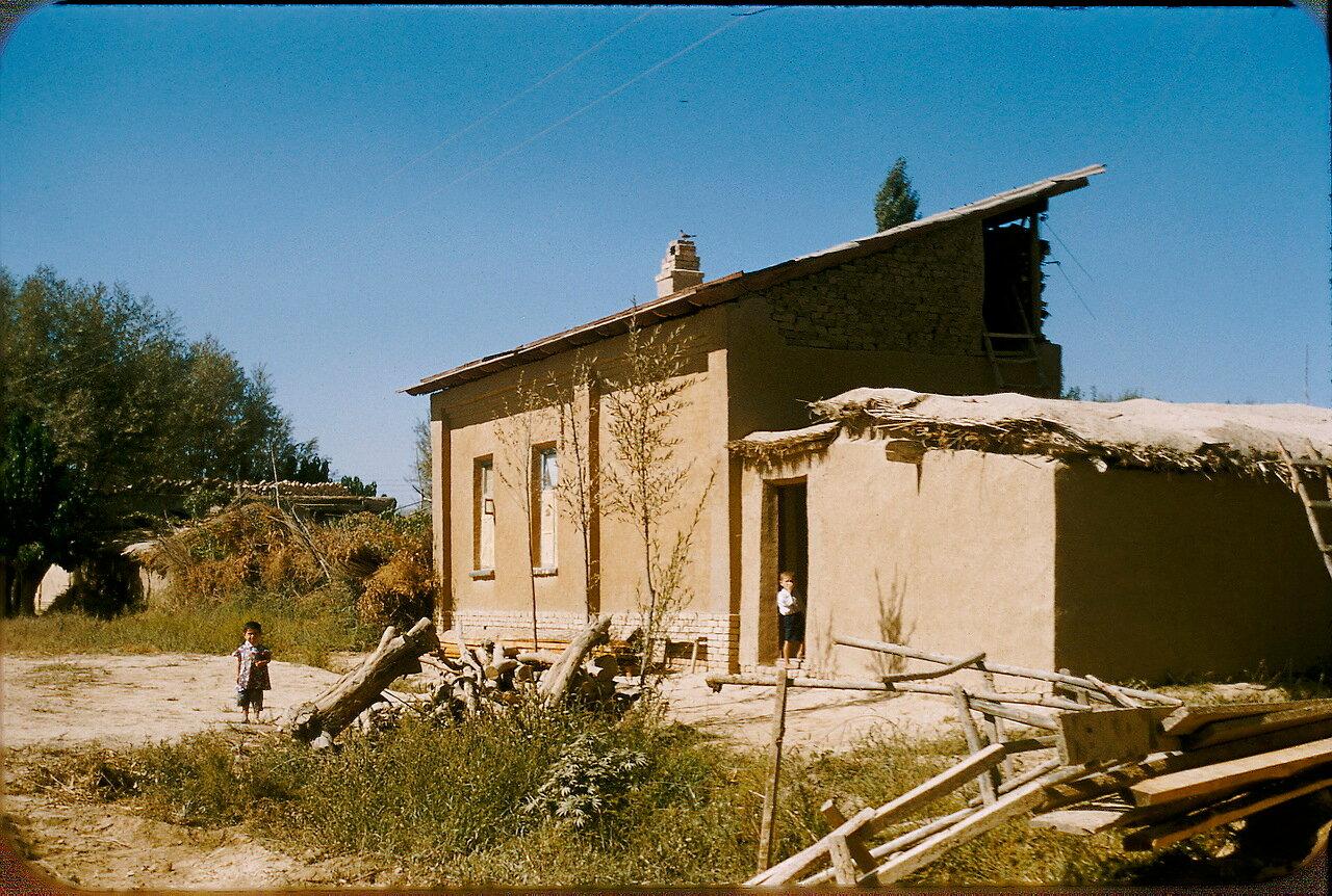 Крестьянский дом в колхозе