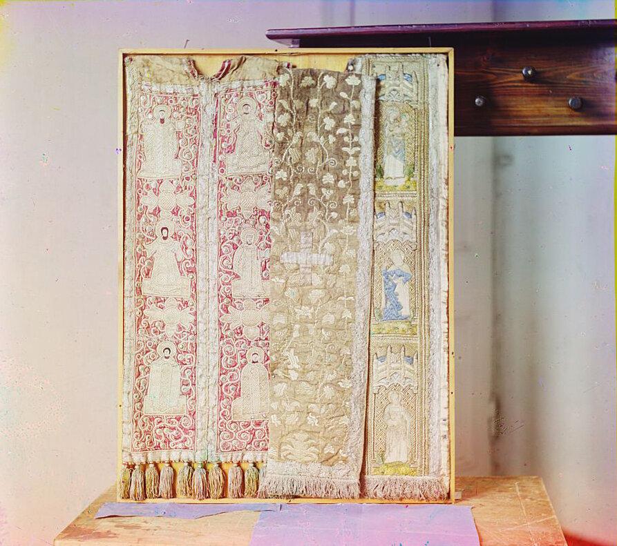 Епитрахиль (церковное облачение), 17 век. Тверской музей