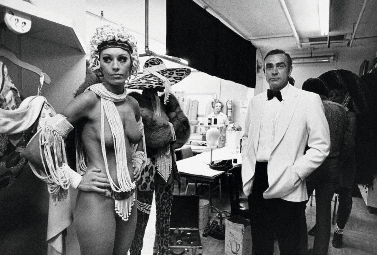 1971. Шон Коннери в Лас-Вегасе на съемках фильма «Бриллианты вечны»