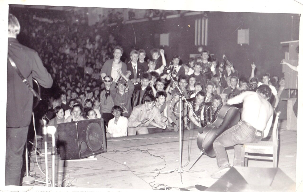 1988-1990. На одном из фестивалей в Иркутске