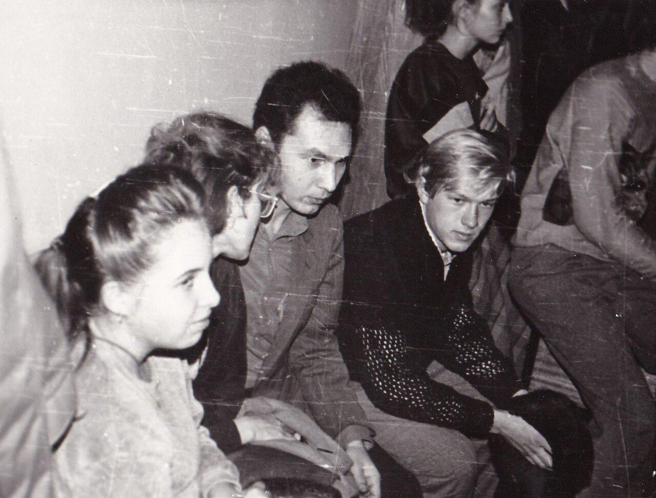 1989. Первое выступление Янки в Иркутске. Библиотека им. Ленина