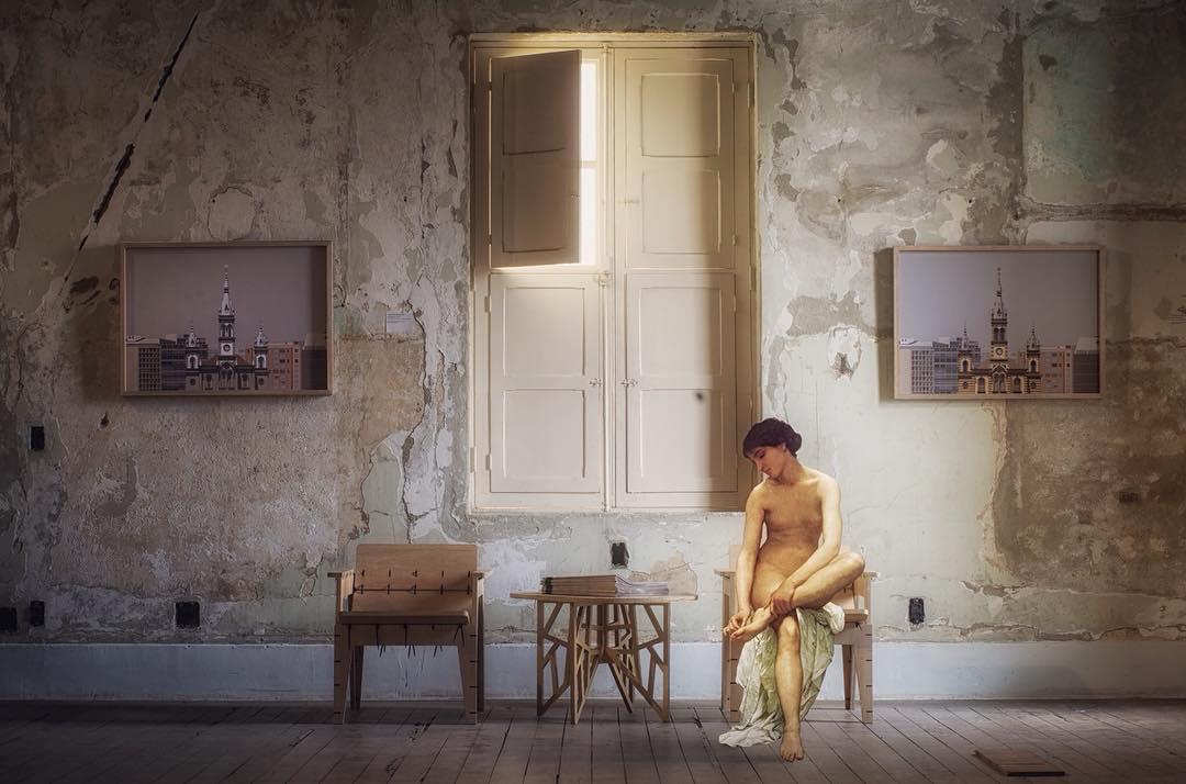 The Canvas Project: художник помещает героев картин на современные фотографии художник, Араужо, картин, говорит, помещает, улицы, сегодняшних, городов, таким, образом, Португальский, хочет, веков, взглянуть, живопись, посмотреть, герои, будут, выглядеть, новом