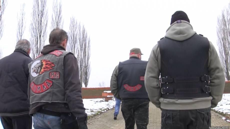 Прокремлевские байкеры начали пробег Балканами из Сербии