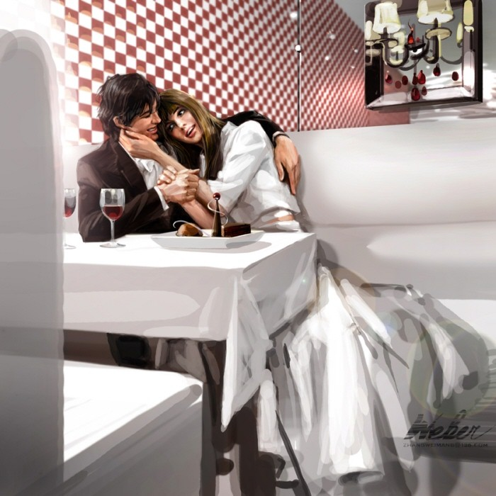 Картины Zhang Weber