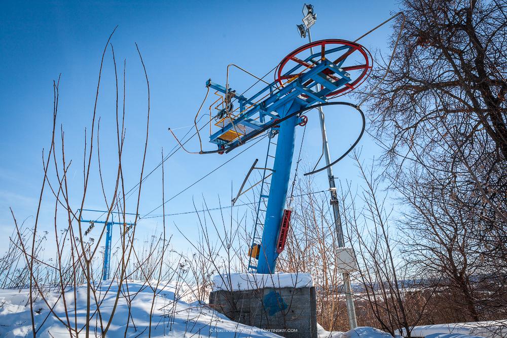 Мёртвый горнолыжный курорт во Владимире