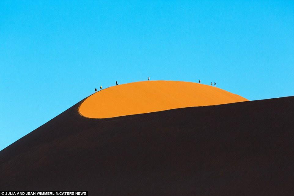 Дюны Намибии: грандиозные замки из песка, воздвигнутые самой природой (6 фото)
