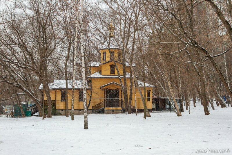 Деревянный храм иконы Божией Матери «Неупиваемая Чаша», Москва