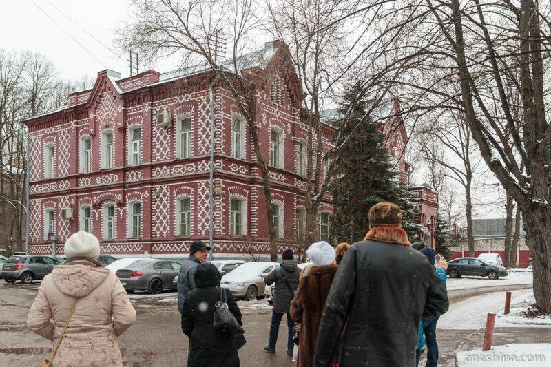 Здание конторы бывшей Алексеевской водокачки, Москва