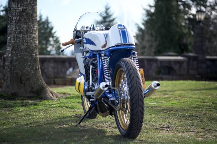 Weberwerks: кастом Suzuki T500