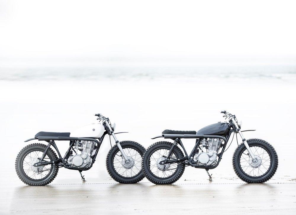 Auto Fabrica: скрэмблер Yamaha SR500 Type 7D / Type 7E