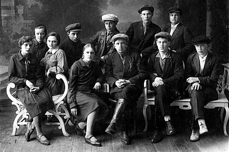 Учащиеся ФЗУ.