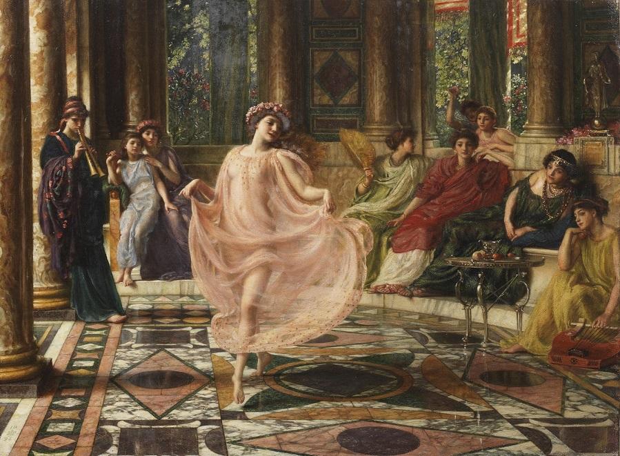 1895_Ионический танец Частное собрание.