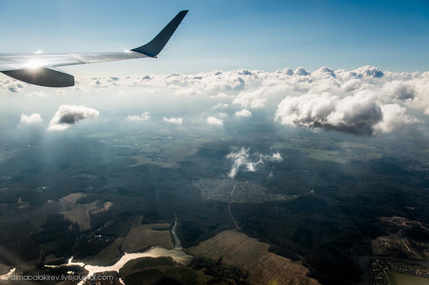 Полёт в Черногорию