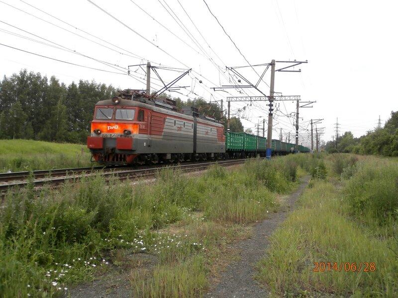 Электровоз ВЛ11-581, ст. Кунавино