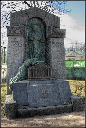 Надгробие. И. Р. Тарханов (Тархан-Моуравов).
