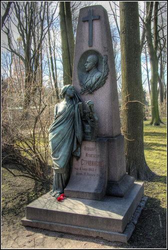 Надгробие. Ф.И. Стравинский.