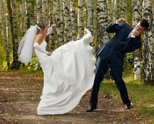 Видео-приколы о свадьбах
