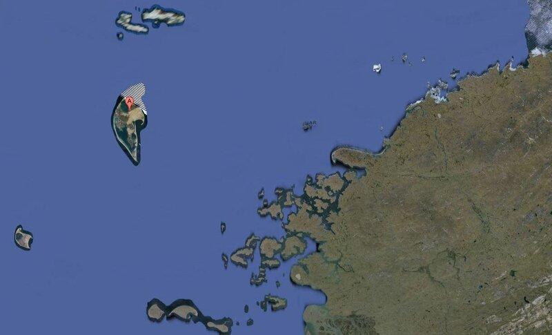 Секретный остров в Карском море! 75.371444,81.968136