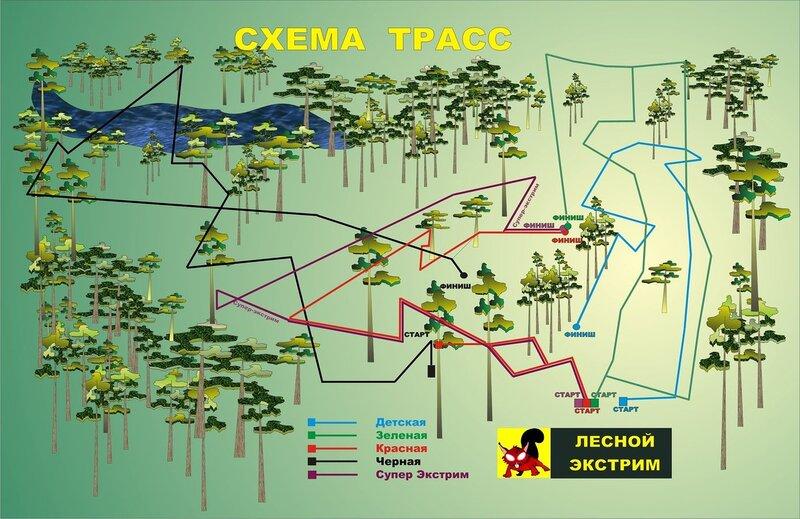 Схема трасс (25.06.2013)