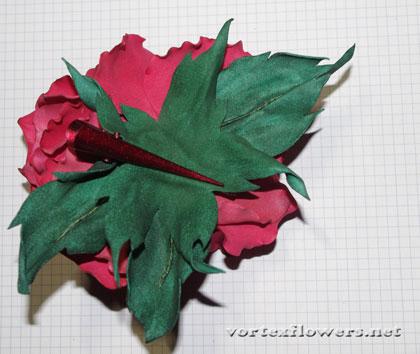 роза из фоамирана