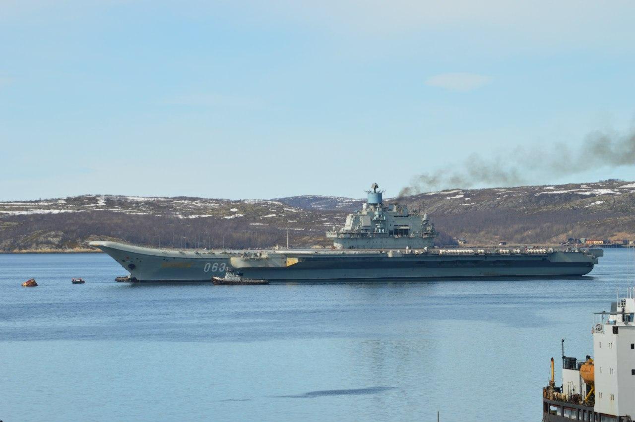 тамошних корабли петр великий и адмирал кузнецов фото все понимаем, что