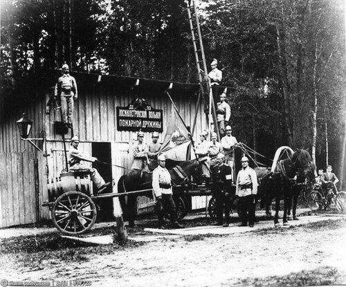 1920-е г.г. Лосиноостровская пожарная дружина