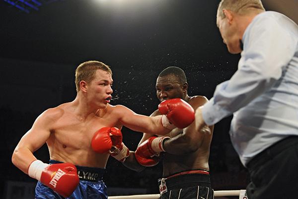 Подмосковный боксер Дмитрий Чудинов проведет бой вСевастополе